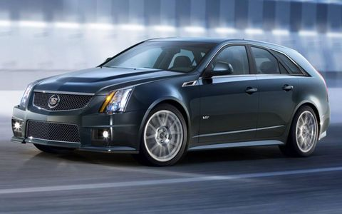 Cadillac looks to fill out the CTS-V lineup with a concept version of the CTS-V Sport Wagon. This one won't stay a concept for long, we bet.