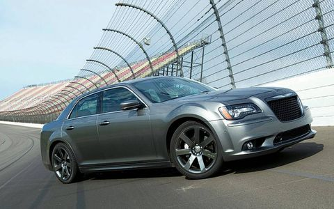 We took the 2012 Chrysler 300 SRT8 to Michigan International Speedway to put it through our Autofile testing.