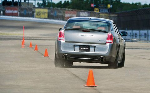 The 2012 Chrysler 300 SRT8/s 0-60 time during our test was 5.3 seconds.