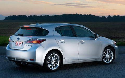 The 2011 Lexus CT 200h Premium