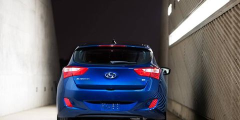 The 2013 Hyundai Elantra GT is great for around-town errands, and lives for local trips.