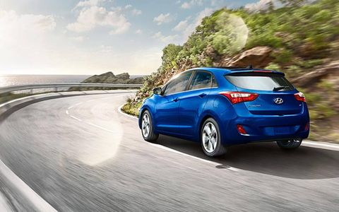 Adding the style package to the 2013 Hyundai Elantra GT will include 17-inch wheel, sport-tuned suspension and a panoramic sunroof, among other amenities.