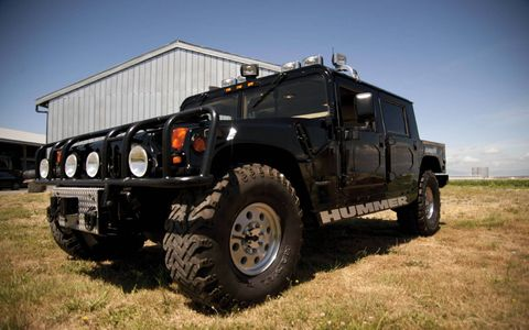 Legendary rapper Tupac Shakur's 1996 American Motors H1 goes up for sale May 12.