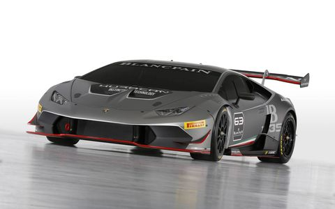 """""""The Huracán LP 620-2 Super Trofeo is an all-new car built from scratch with a clear racing concept. Every feature is engineered for sophisticated high performance, complying with the strictest motorsport safety standards."""""""