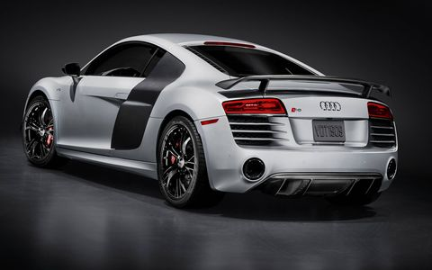 The fastest R8 yet (on the street, anyway) goees 0-60 in 3.2 seconds.