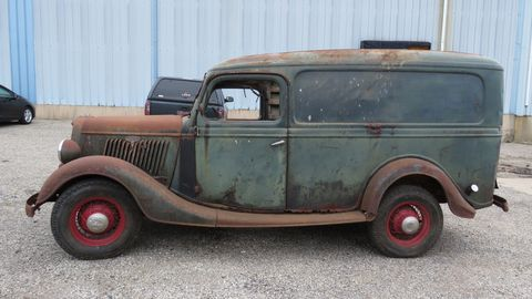 1935 Ford Panel