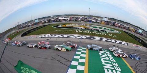 Sights from the NASCAR action at Kentucky Speedway, Saturday July 14, 2018