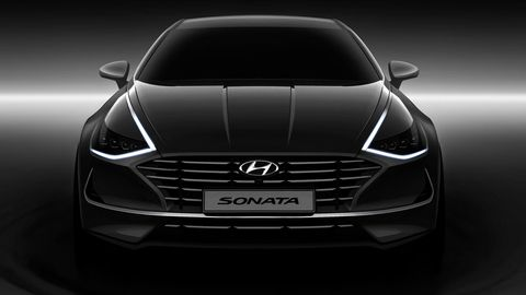 The 2020 Hyundai Sonata will come with the company's new lighting package, which will probably spread across its stable of cars and crossovers.