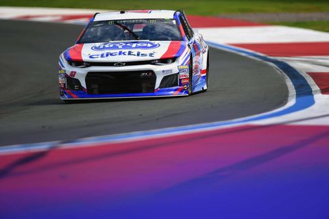 Sights from the NASCAR action at Charlotte Motor Speedway, Friday, Sept. 28, 2018.