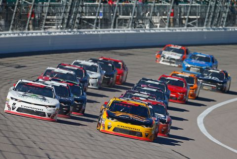 Sights from the NASCAR action at Kansas Speedway, Saturday Oct. 20, 2018.