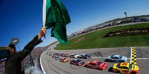 Sights from the NASCAR action at Kansas Speedway, Sunday Oct. 21, 2018.