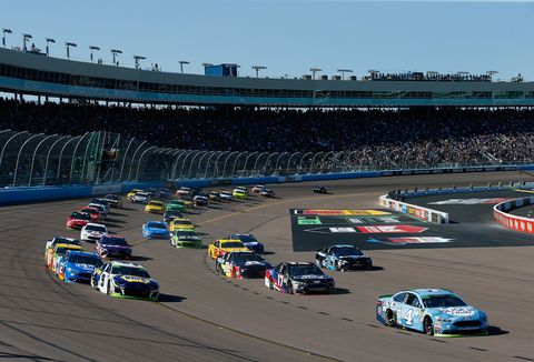 Sights from the NASCAR action at ISM Raceway Sunday Nov. 11, 2018.
