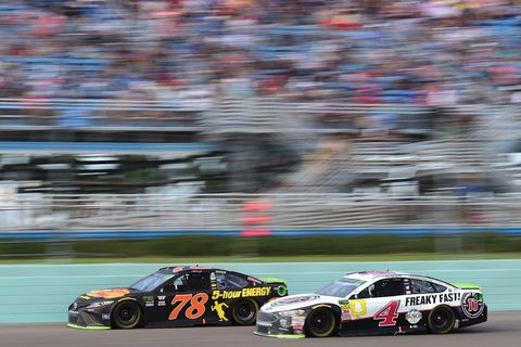 Sights from the NASCAR action at Homstead-Miami Speedway, Sunday Nov. 18, 2018.
