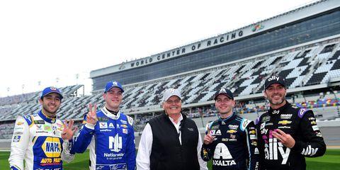 Sights from the NASCAR action at  at Daytona International Speedway Sunday Feb. 10, 2019.