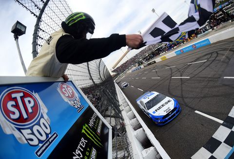 Sights from the NASCAR action at Martinsville Speedway Sunday March 24, 2019.