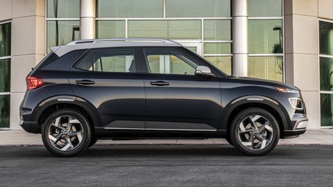 The 2020 Hyundai Venue will come with a 1.6-liter engine delivering around 33 mpg.