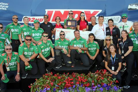 Sights from the IndyCar Series Indy 500 Carb Day at Indianapolis Motor Speedway, Friday May 25, 2018