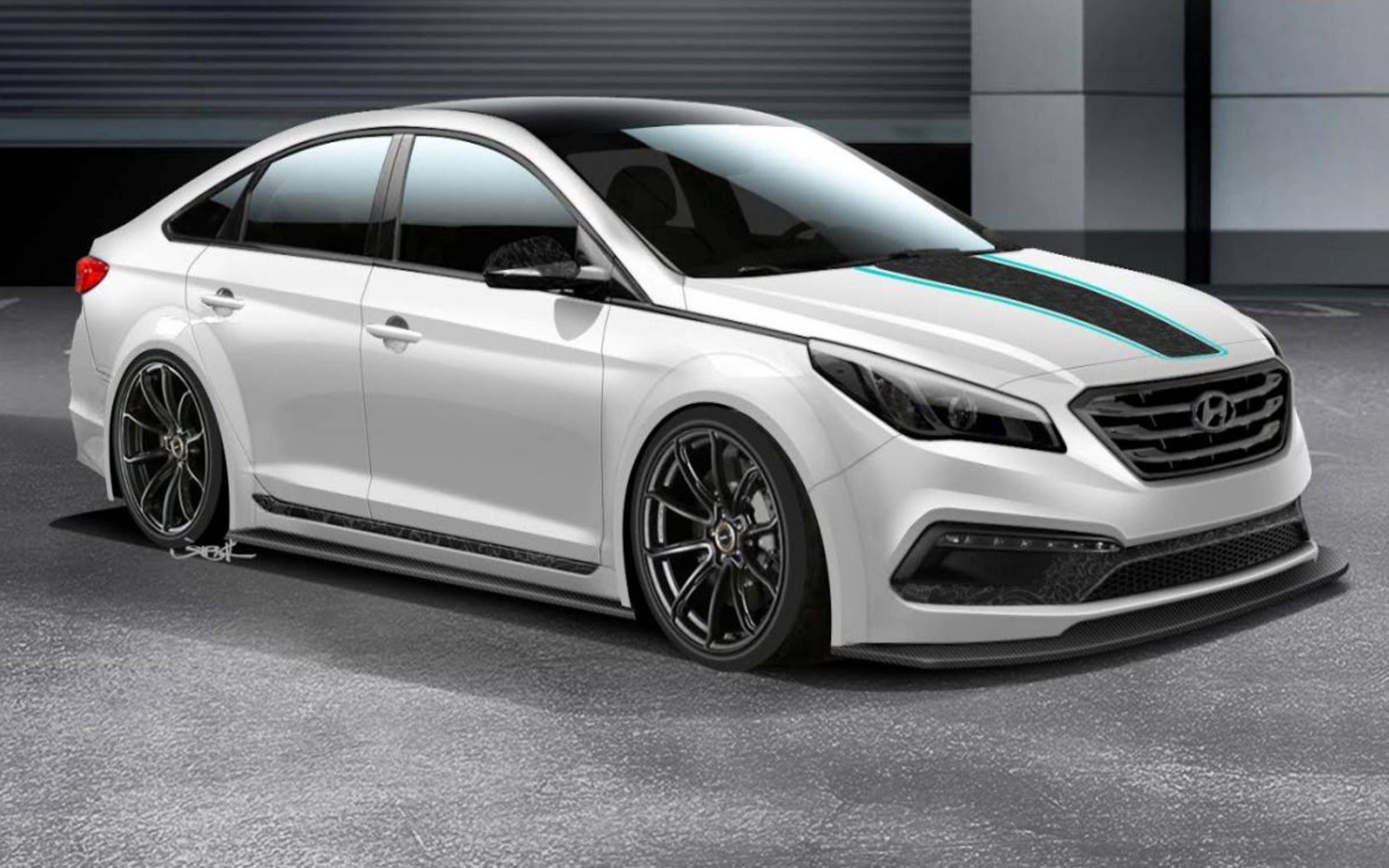 Hyundai Jp Edition Sonata Previewed Before The Sema Show