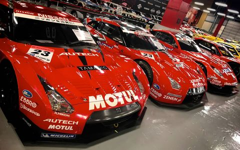 The Nissan Heritage Collection in Zama, Japan houses more than 400 vehicles ranging from the first Datsuns to today's Nismo race cars.