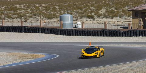 McLaren Special Operations special edition 570s' stretching their legs on the track