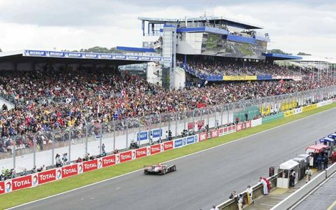 A record 258,000 fans enjoyed the 24 Hours of Le Mans.
