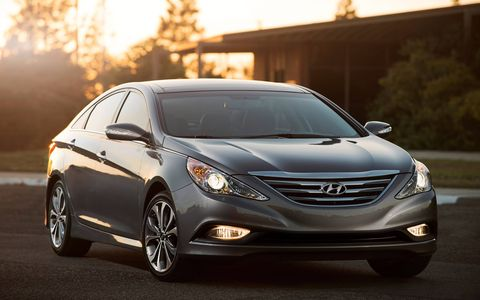 The 2014 Sonata's styling can polarizing, some of us like it, others don't.