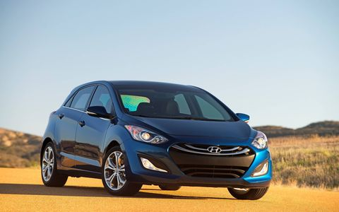 We like the 2014 Hyundai Elantra GT better than the Hyundai Elantra Coupe.
