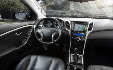 The 2014 Hyundai Elantra GT handles itself much better after it's 2014 model year updates.