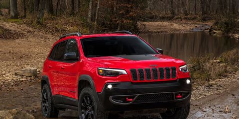Jeep left the body largely untouched and focused on the front and rear of the car with its 2019 Cherokee refresh.