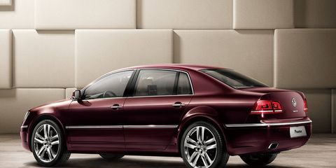 The next-generation Phaeton will have a pure-electric powertrain with long-distance capability.
