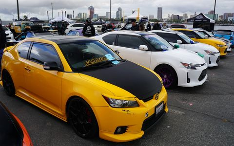 Prices of and interest in Japanese classic cars continues to rise, as evidenced by a healthy turnout for the 21st Toyotafest in Long Beach, Calif., despite rainy weather. Everything from Publicas to 2000GTs were there, including what may be the last totally stock AE86 in America.