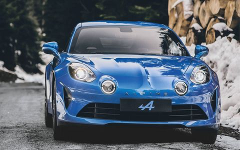 The Première Edition will be a limited-run version of the A110 with a few extras.
