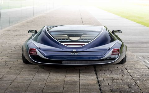 """""""Sweptail is the automotive equivalent of Haute Couture,"""" says Giles Taylor, director of design at Rolls-Royce Motor Cars. """"It is a Rolls-Royce designed and hand-tailored to fit a specific customer."""""""