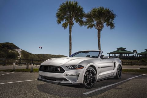 The 2019 Ford Mustang GT California Special will only be offered with a 460-hp 5.0-liter V8.