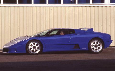 Rinspeed Bugatti 'Cyan,' 1994
