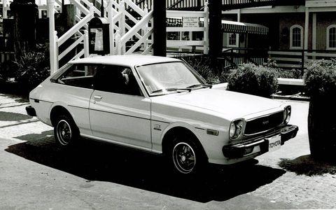 Third generation, 1975-1979. This one's an SR5 Liftback.
