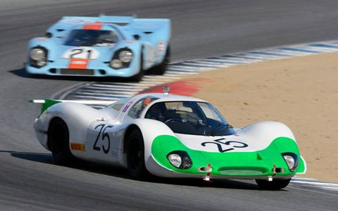 Jeanette was lapping Mazda Raceway Laguna Seca in the 1:30s.