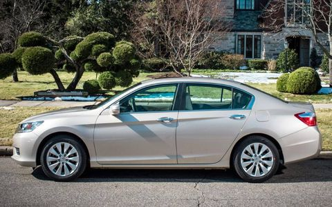 The 2013 Honda Accord sedan is the latest addition to our long-term fleet.
