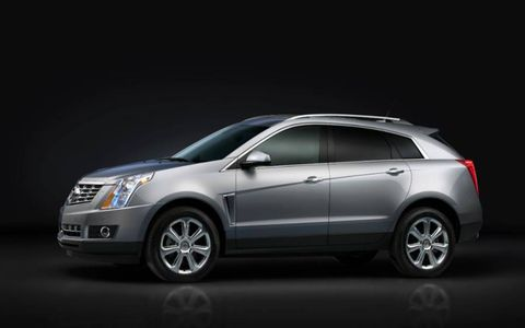 The 2013 Cadillac SRX is equipped with a 3.6-liter V6 mated with a six-speed automatic.