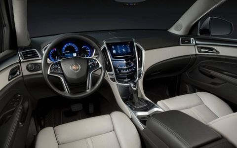 The 2013 Cadillac SRX has a spacious interior, and the rear floor configuration allows for ample room.