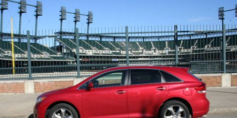 Driver's Log Gallery: 2010 Toyota Venza