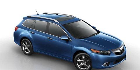 New York Auto Show Debut: 2011 Acura TSX Sport Wagon