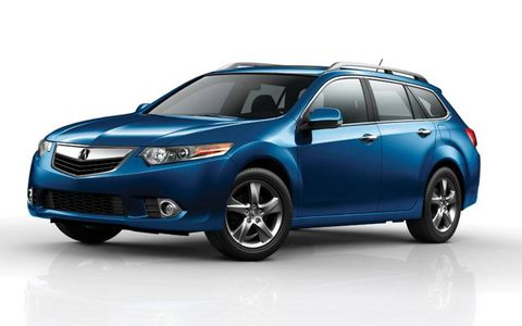 New York Auto Show Debut: 2011 Acura TSX Sport Wagon