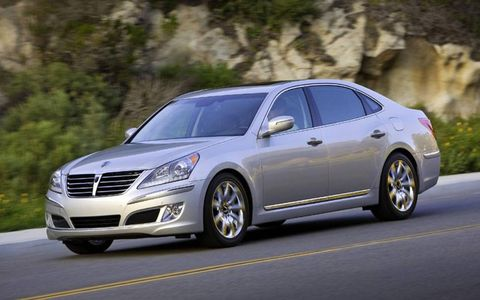 Hyundai's upcoming flagship Equus sedan is packed with features to pamper owners and passengers