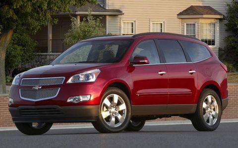 Driver's Log Gallery: 2010 Chevrolet Traverse 2LT