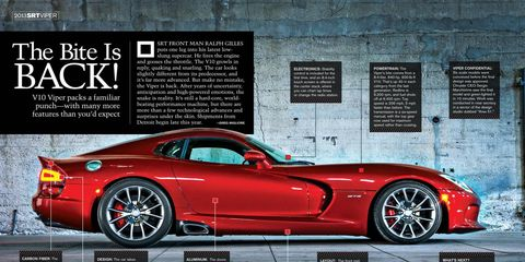 The new Viper is a new twist on a familiar concept.