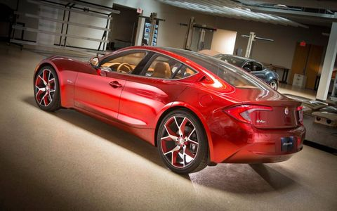 The Fisker Atlantic uses an engine from BMW.