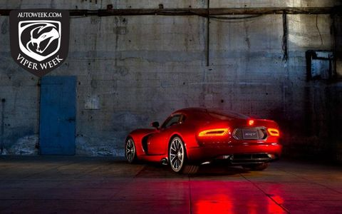 SRT's new Viper debuted at the New York auto show. Visit autoweek.com/viperweek for details on the new Viper.