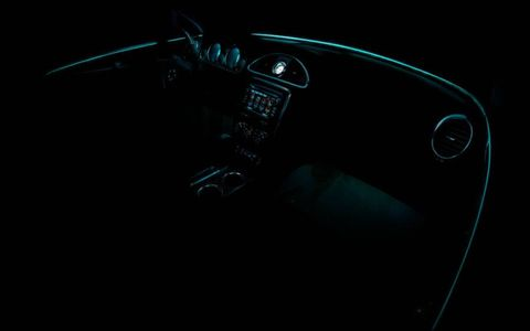 Ambient lighting is a new feature in the 2013 Buick Enclave.