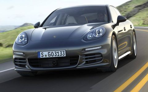 The restyled Panamera goes on sale in the United States late this year as a 2014 model.